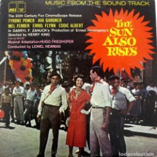 Discos de vinilo: FIESTA. THE SUN ALSO RISES. HUGO FRIEDHOFER. LIONEL NEWMAN. Lote 159374910