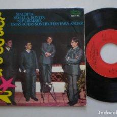 Discos de vinilo: LOS DOBLE R - ESTAS BOTAS SON HECHAS....+3 -EP ALMA 1966 // GARAGE BEAT MOD FREAKBEAT. Lote 159375766
