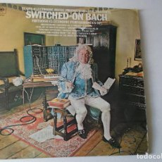 Discos de vinilo: SWITCHED-ON BACH - TRANS-ELECTRONIC MUSIC PRODUCTIONS - CBS. Lote 159380482