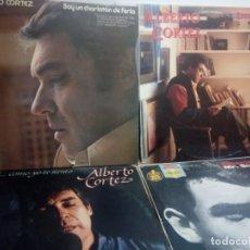 Discos de vinilo - LOTE 4 LP ALBERTO CORTEZ: MR.SUCU SUCU, ENTRE LINEAS, GARDEL...COMO YO TE SIENTO Y SOY UN CHARLATÁN - 159389130