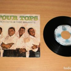 Discos de vinilo: FOUR TOPS (REACH OUT I'LL BE THERE). VINILO SG 45. MOTOWN / BELTER 1-10.166. AÑO 1981. Lote 159395678