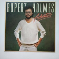 Discos de vinilo: RUPERT HOLMES. - ADVENTURE. LP. TDKLP. Lote 159396370