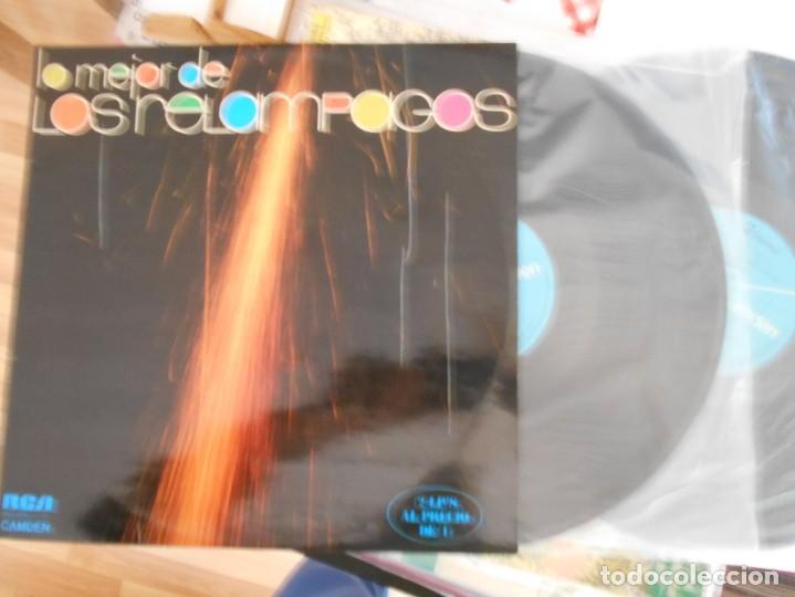 LOS RELAMPAGOS-LP DOBLE LO MEJOR (Música - Discos - LP Vinilo - Grupos Españoles 50 y 60)