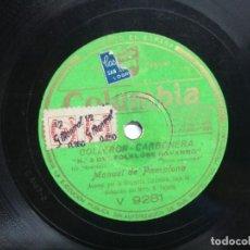 Discos de vinilo: LEVANTATE PAMPLONICA / COLLERON – CARBONERA. MANUEL DE PAMPLONA. NAVARRO. NAVARRA. Lote 159397102