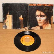Discos de vinilo: ADAM ANT THE ANTS (PRINCE CHARMING). VINILO SG 45. CBS A 1408. AÑO 1981. Lote 159399698