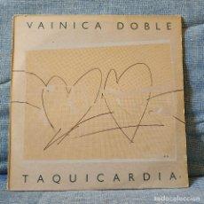 Discos de vinilo: VAINICA DOBLE - TAQUICARDIA - 2 LP'S - SELLO NUEVOS MEDIOS 1ª EDICION DE 1984 - ESTADO IMPECABLE. Lote 159400330