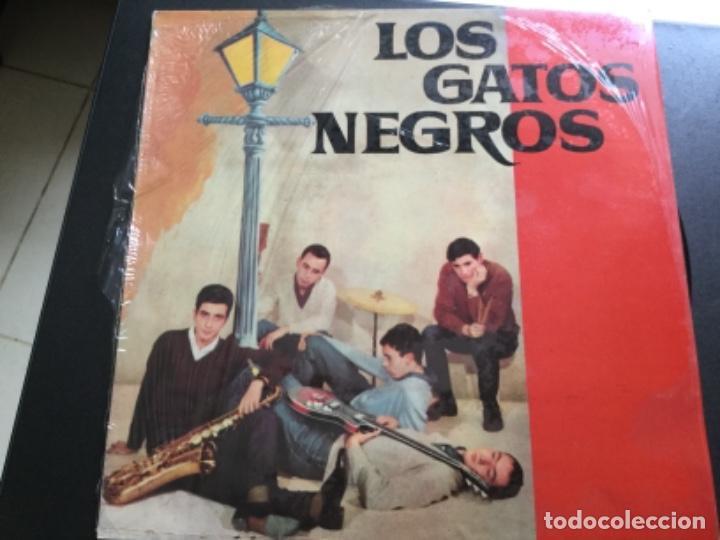 LOS GATOS NEGROS - HISTORÍA DE LA MÚSICA POP ESPAÑOLA (Música - Discos - LP Vinilo - Grupos Españoles 50 y 60)