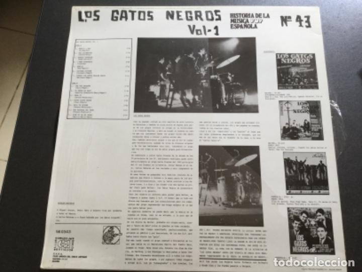 Discos de vinilo: Los Gatos Negros - historía de la música pop española - Foto 2 - 159403346
