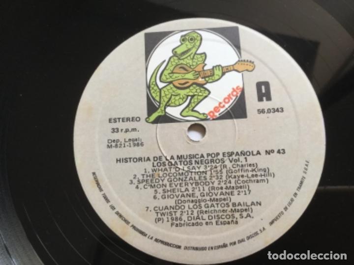 Discos de vinilo: Los Gatos Negros - historía de la música pop española - Foto 4 - 159403346
