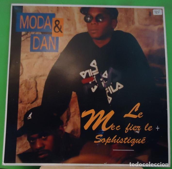 EP 12'' MODA & DAN – LE MEC FIER LE + SOPHISTIQUÉ (Música - Discos de Vinilo - EPs - Rap / Hip Hop)
