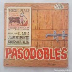 Discos de vinilo: EP / BANDA DE LA PLAZA DE TOROS – PASODOBLES / 1963. Lote 159415006