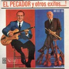 Discos de vinilo: EP 1962 - AL CAIOLA & RALPH MARTERIE - EL PECADOR + OTROS. Lote 159418078