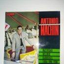 Discos de vinilo: VINILO ANTONIO MACHIN - NATIVIDAD, TODA UNA VIDA..... Lote 159423832