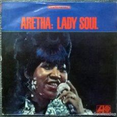 Discos de vinilo: ARETHA FRANKLIN. LADY SOUL. ATLANTIC, USA 1968 LP ATL-SD 8176. Lote 159433690