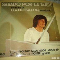 Discos de vinil: CLAUDIO BAGLIONI - ED. ESPAÑOLA 1975. Lote 159437934