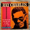 Discos de vinilo: RAY CHARLES - ROLL WITH MY BABY / MY BONNIE + 3 SPAIN EP BELTER 51.321 AÑO 1963 EXCELENTE ESTADO. Lote 159453658