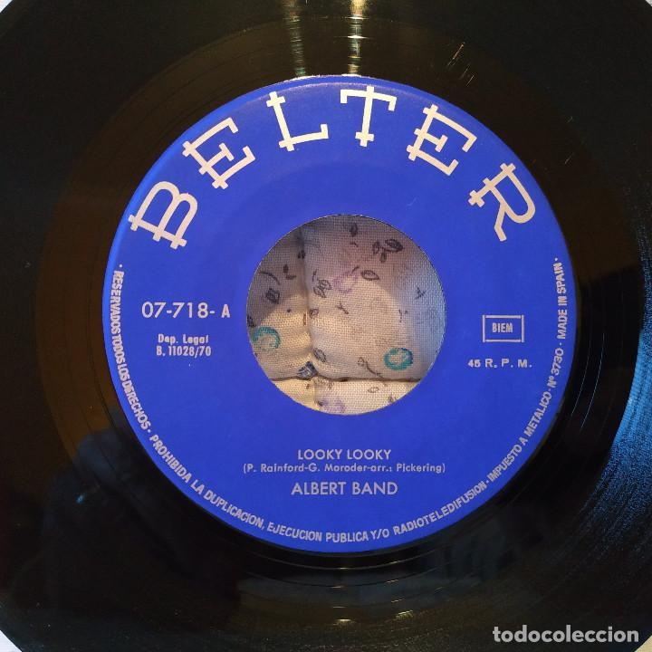 Discos de vinilo: ALBERT BAND - LOOKY LOOKY / EN SUEÑOS - SPAIN SINGLE BELTER 1970 (EL VINILO VG++ LA FUNDA IMPECABLE) - Foto 3 - 159454538
