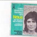 Discos de vinilo: MARY§ ROOS NOUS 3PLATZ GRAND EUROVISION DE LA CHANSON 1972 CBS GERMANY . Lote 159463962