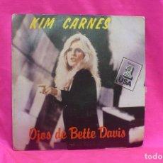 Discos de vinil: KIM CARNES - BETTE DAVIS EYES / MISS YOU TONITE, EMI AMERICA, 1981.. Lote 159474570