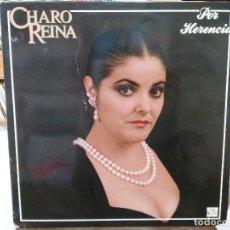 Discos de vinilo: CHARO REINA - POR HERENCIA - LP. DEL SELLO FODS RECORDS 1988. Lote 159484830