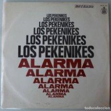 Discos de vinilo: LOS PEKENIKES - ALARMA (LP HISPAVOX 1969) 1ª EDICION. Lote 159492662