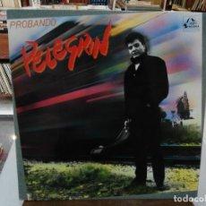 Discos de vinilo: PELEGRÍN - PROBANDO - LP. DEL SELLO FODS RECORDS 1988. Lote 159501534