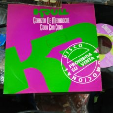 Discos de vinilo: KRULL SINGLE PROMOCIONAL CORAZON DE MEDIANOCHE 1992. Lote 159504468