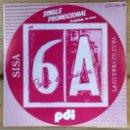 Discos de vinilo: SISA - LA GUERRA DE CUBA SG PROMO ED ESPAÑOLA 1983. Lote 159514354