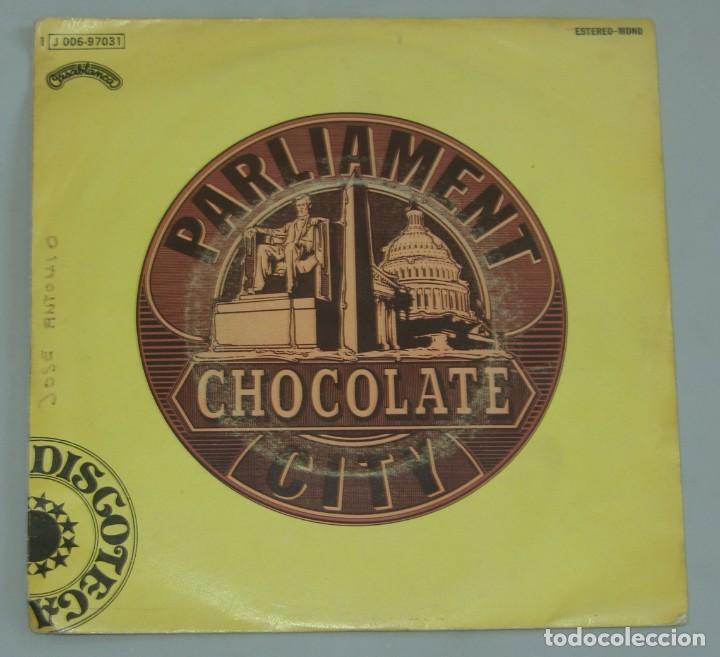 PARLIAMENT - CHOCOLATE CITY - EMI-ODEON 1975 SPAIN (Música - Discos - Singles Vinilo - Funk, Soul y Black Music)