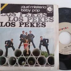 Discos de vinilo: LOS PEKES-SINGLE BABY POP. Lote 159532618