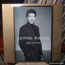 Discos de vinilo: LIONEL RICHIE - BACK TO FRONT - DOBLE LP. Lote 159534146