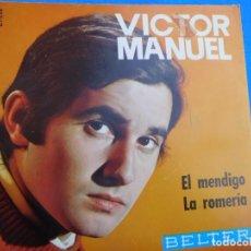 Discos de vinilo: VINILO GRABADO POR VICTOR MANUEL EN LA DÉCADA DE LOS AÑOS 60.. Lote 159537034