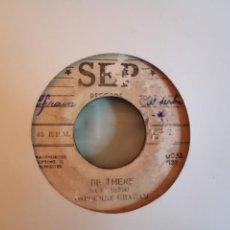 Discos de vinilo: OSBOURNE GRAHAM BE THERE / NAGO MORRIS THE RAMBLER SKA R'N'B ORIGINAL JAMAICA 196? MUY RARO G. Lote 159539126