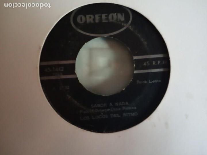 Discos de vinilo: LOCOS DEL RITMO MI PRIMA / SABOR A NADA RNR ELVIS KISSIN COUSINS ORIGINAL MEXICO 196? RARO VG/VG- - Foto 2 - 159548118