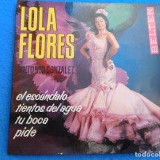 Discos de vinilo: VINILO GRABADO POR LOLA FLORES, 1964. Lote 159548634