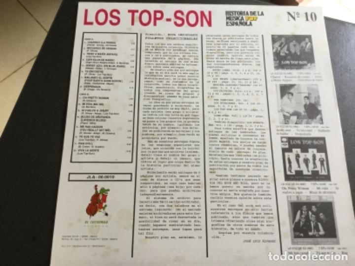 Discos de vinilo: Los Top -Son - historía de la música pop española n 10 - Foto 2 - 159548914