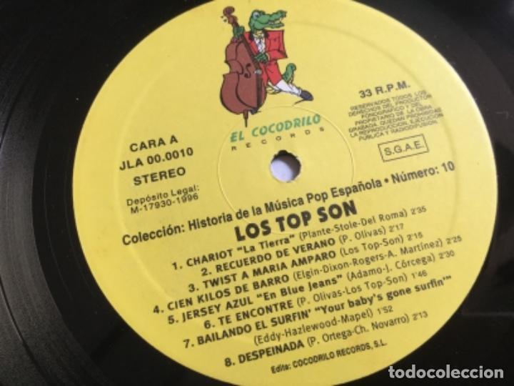 Discos de vinilo: Los Top -Son - historía de la música pop española n 10 - Foto 4 - 159548914