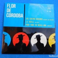 Discos de vinilo: VINILO GRABADO POR FLOR DE CÓRDOBA, 1964, LOS CUATRO MULEROS. Lote 159549302