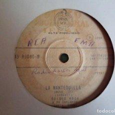 Discos de vinilo: QUIQUE ROCA LA MANTEQUILLA /ROGARÉ R'N'R CLIFF RICHARD MOVE IT ORIGINAL ECUADOR 196? MUY RARO VG/VG-. Lote 159549614