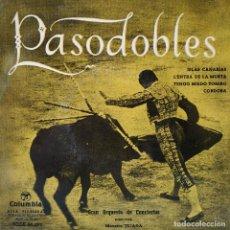 Discos de vinilo: GRAN ORQUESTA DE CONCIERTOS DIRECTOR MAESTRO TEJADA ?- PASODOBLES - ISLAS CANARIAS + 3 -MUY ANTIGUO . Lote 159552370