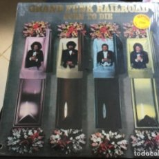 Discos de vinilo: GRAND FUNK RAILROAD- BORN TO DIE. Lote 159556310