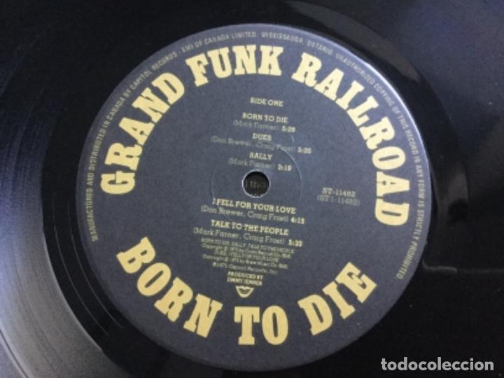 Discos de vinilo: Grand Funk Railroad- Born to die - Foto 4 - 159556310