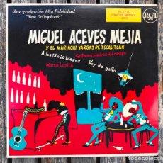 Dischi in vinile: MIGUEL ACEVES MEJÍA Y EL MARIACHI VARGAS DE TECALITLAN. DISCOS RCA.. Lote 159566298