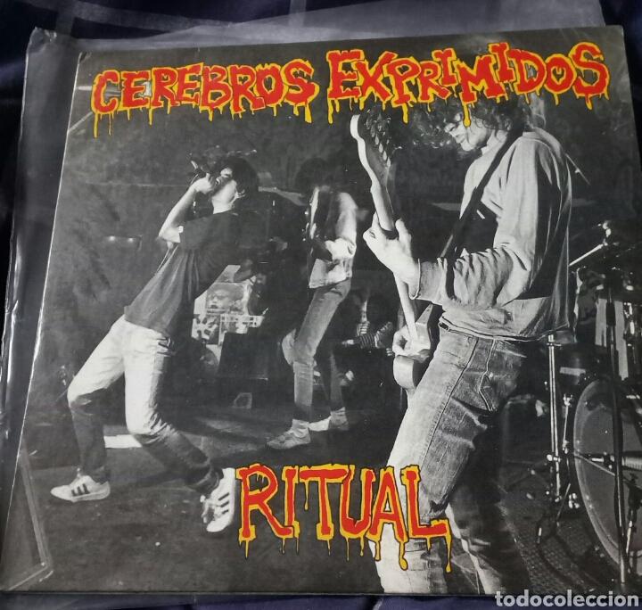 CEREBROS EXPRIMIDOS. RITUAL. EP. MUNSTER RECORDS. PUNK ROCK (Música - Discos de Vinilo - EPs - Punk - Hard Core)