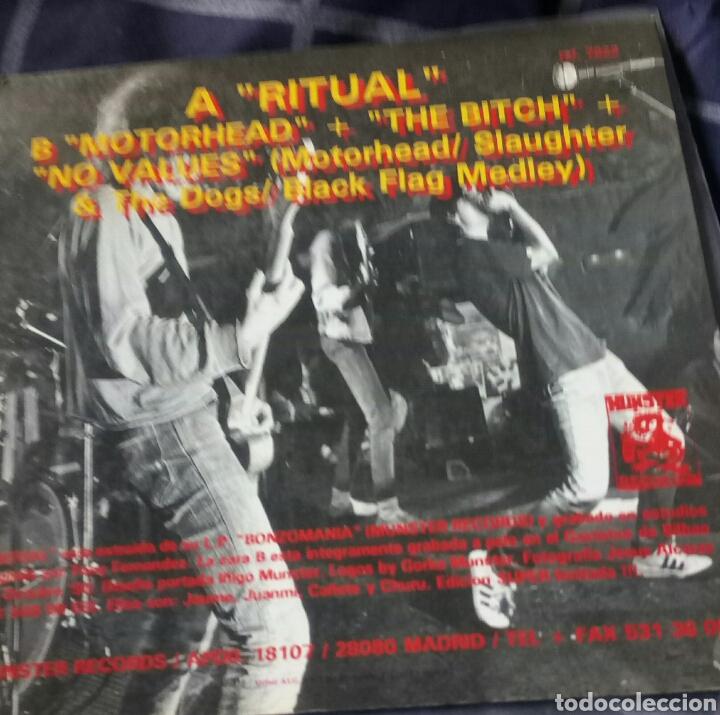 Discos de vinilo: CEREBROS EXPRIMIDOS. RITUAL. EP. MUNSTER RECORDS. PUNK ROCK - Foto 2 - 159567597