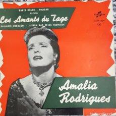 Discos de vinilo: AMALIA RODRIGUES EP SELLO COLUMBIA EDITADO EN FRANCIA.. Lote 159575846