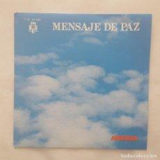 Discos de vinilo: SINGLE / IBERIA LINEAS AEREAS INTERNACIONALES DE ESPAÑA - MENSAJE DE PAZ / 1973 PROMO. Lote 159586946