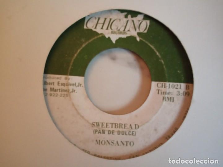 Discos de vinilo: MONSANTO IN THE MOOD / SWEETBREAD LATIN CHICANO TEX MEX ORIGINAL USA 198? G+ - Foto 2 - 159592818