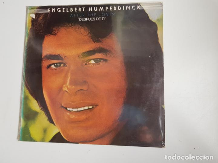 ENGELBERT HUMPERDINCK – AFTER THE LOVIN' (VINILO) (Música - Discos - LP Vinilo - Jazz, Jazz-Rock, Blues y R&B)