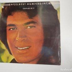 Discos de vinilo: ENGELBERT HUMPERDINCK – AFTER THE LOVIN' (VINILO). Lote 159602562